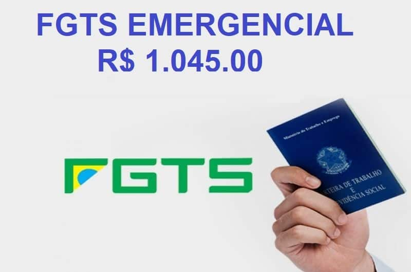 FGTS Emergencial 1045